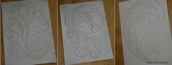 swirls set 1